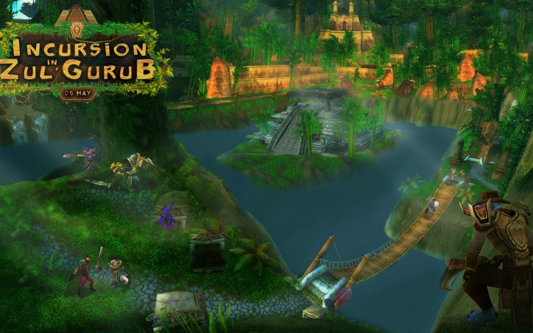 Incursion in Zul'Gurub: announcement